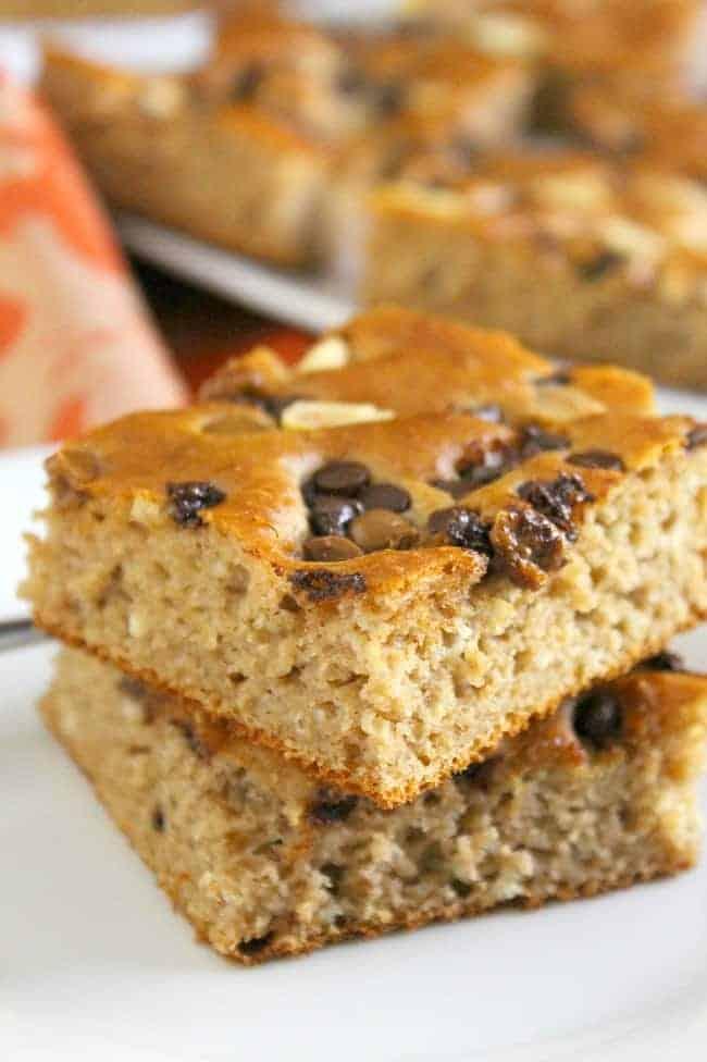 Chocolate Peanut Butter Sheet Pan Pancake