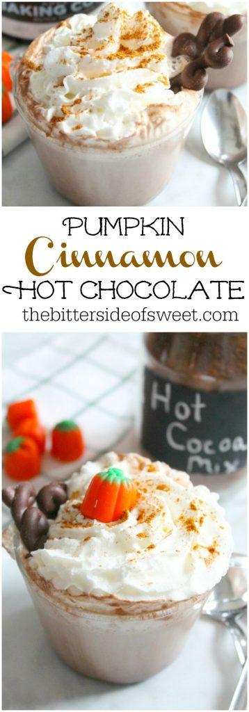 Pumpkin Cinnamon Hot Chocolate