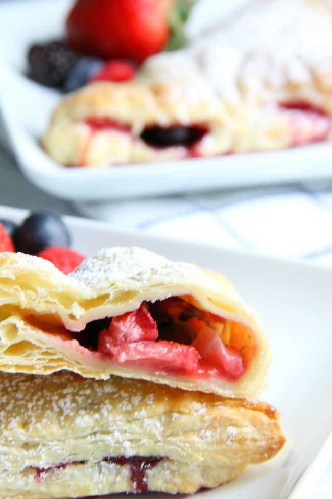 Mixed Berry Turnovers