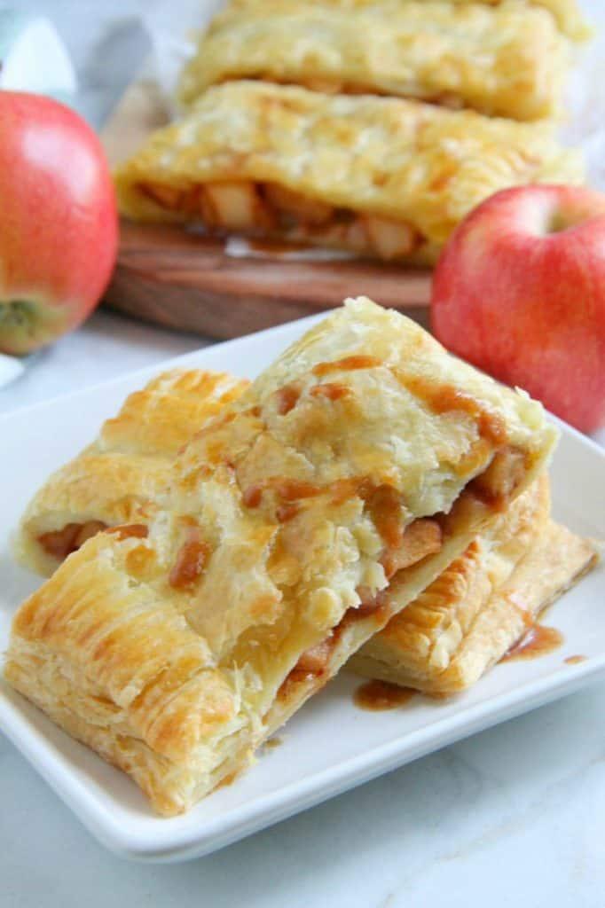 Puff Pastry Apple Slab Pie
